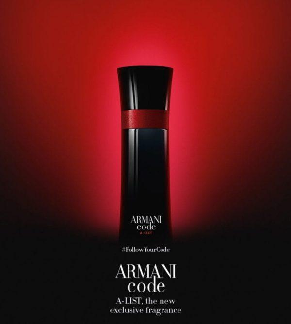 Parfum Armani Code A-List