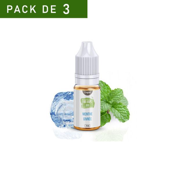 Menthe givrée Ma Vape Bio e-liquide Français