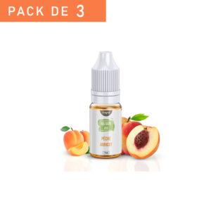 E-liquide pêche abricot bio France